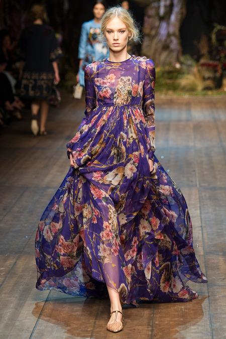 Dolce & Gabbana- Fall 2014